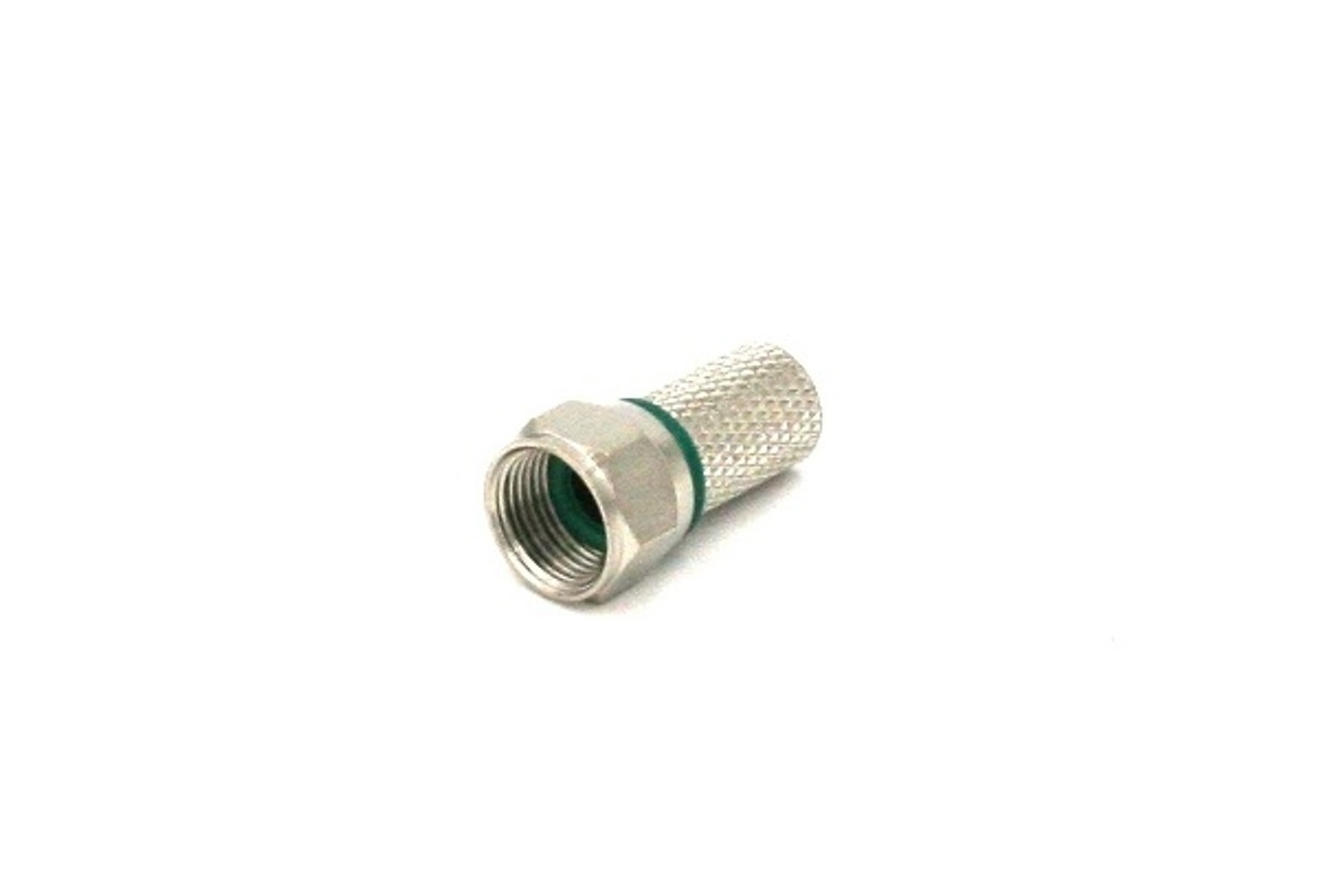 CONN.COAX F TWIST X 6,7MM O-RING