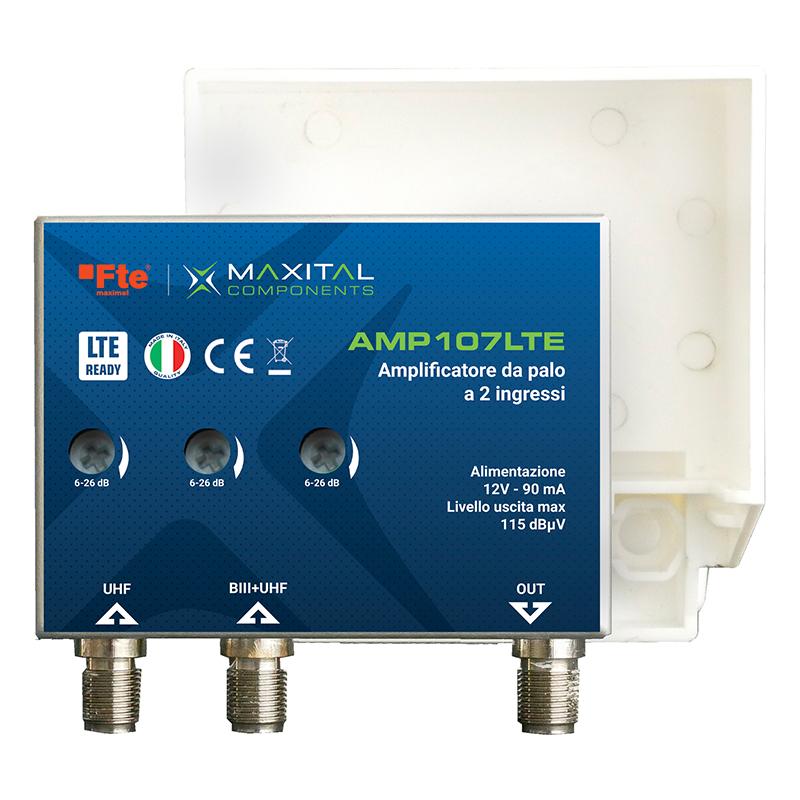 AMP107LTE AMP. PALO 2 ING. LOG / UHF